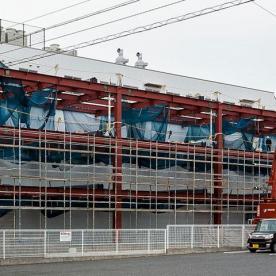 工場・事務所の増設建築鉄骨